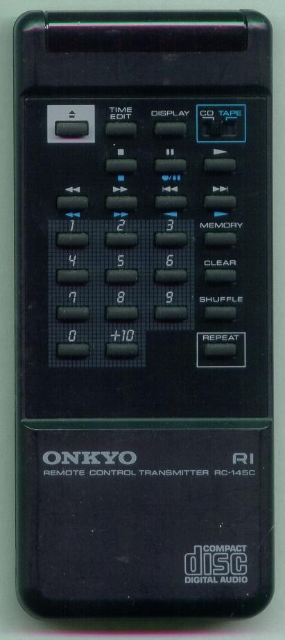 ONKYO RC-145C RC145C Refurbished Genuine OEM Substitute Remote